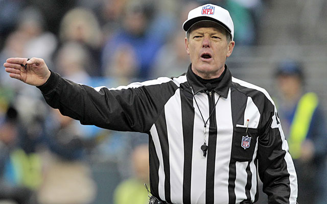 NFL Referees Association president Scott Green says the league is putting the game's integrity at risk. (AP)