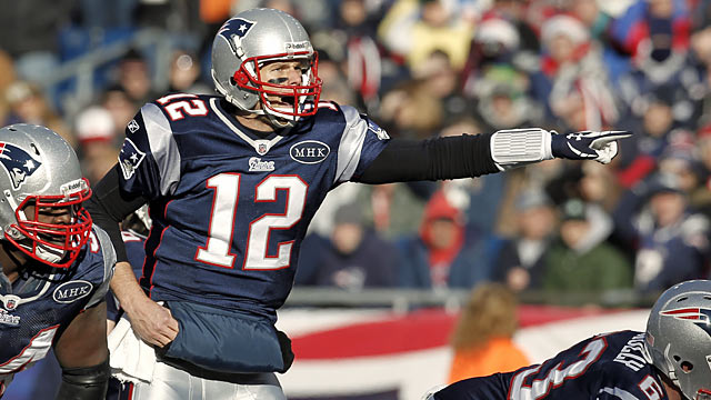 It's Tom Brady and the Patriots, and then the rest of the non-competitive AFC East. (Getty Images)