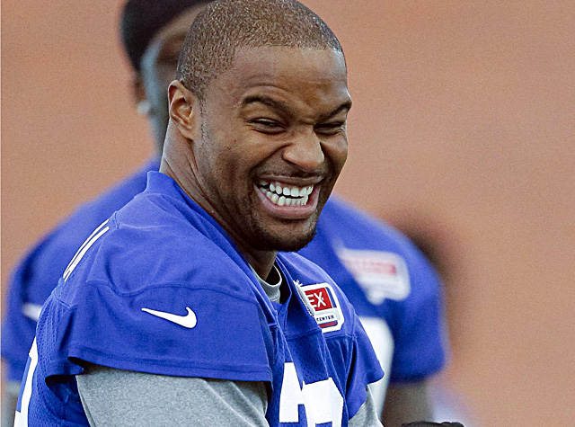 Umenyiora says the Giants are the best team in football and that he'd like to remain in New York. (US Presswire)