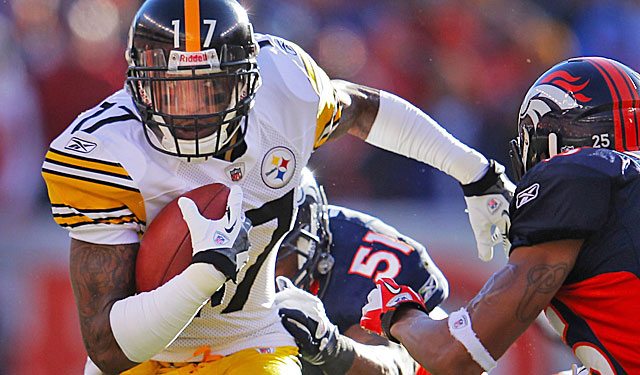 Colbert says Wallace remains a priority for the Steelers. (Getty Images)