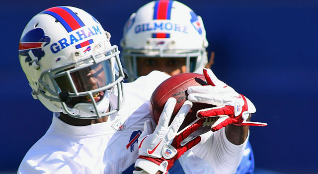 The Bills are counting on T.J. Graham to be their deep threat. (Getty Images)