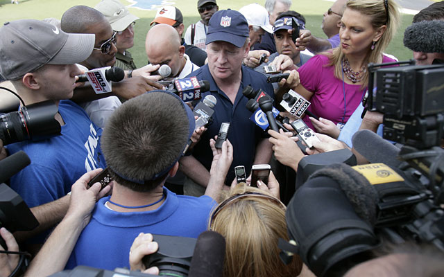 Goodell, despite the off-field problems, says the Lions are moving in the right direction. (AP)
