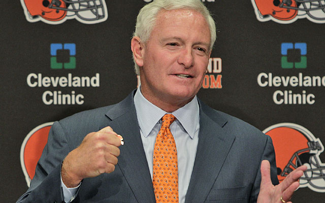 Steelers minority investor Jimmy Haslam III says his family is all about the Browns now. (AP)