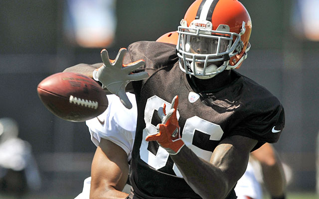 Josh Gordon might not hold up over 16 games as a rookie, but his future in Cleveland is bright. (AP)
