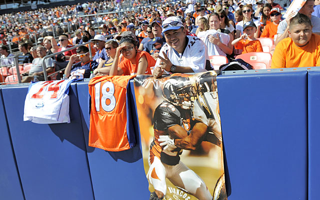 Broncos fans are ready to see what old pros like Champ Bailey and Peyton Manning can do. (AP)