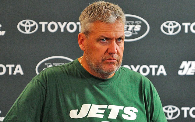 The Jets have been pretty physical during camp, frustrating coach Rex Ryan. (US Presswire)