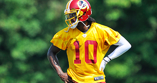 The Redskins are set to start RG3 in Week 1 of the season. But should they? (Getty Images)