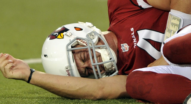 Staying on the field has been a challenge for Kevin Kolb. (US Presswire)