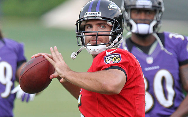 The Ravens have made Joe Flacco an extension offer, but the QB is waiting to sign. (US Presswire)