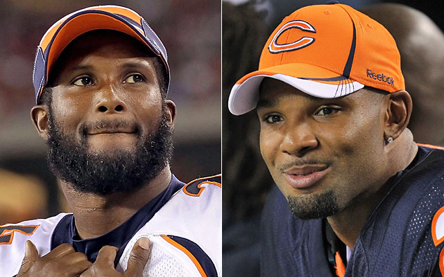 Respected vets Champ Bailey and Matt Forte acknowledge the problems player arrests bring. (Getty Images)