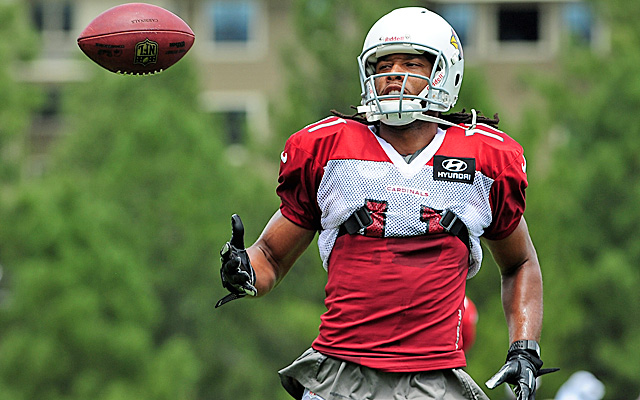 'It will be fun to figure out who our guy is,' says Larry Fitzgerald. (US Presswire)