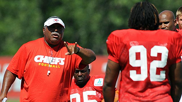Romeo Crennel better hope Dontari Poe delivers more than other high Chiefs' D-line picks. (Getty Images)