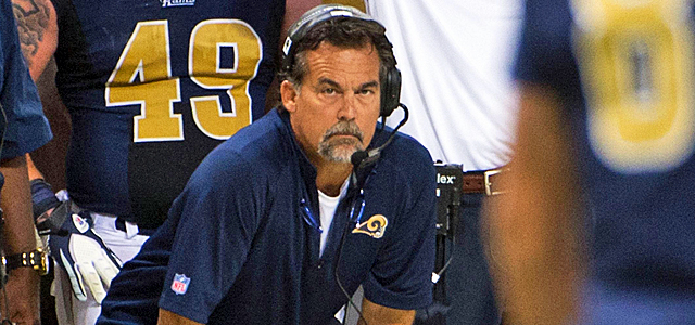 Jeff Fisher gives the youthful Rams some needed swagger. (US Presswire)
