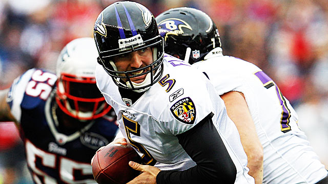 Will Joe Flacco finally get the chance to reach elite QB stature? (Getty Images)
