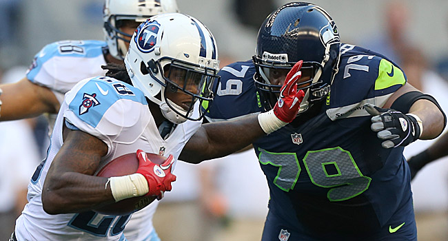 Chris Johnson appears poised for a bounce-back year in Tennessee. (Getty Images)