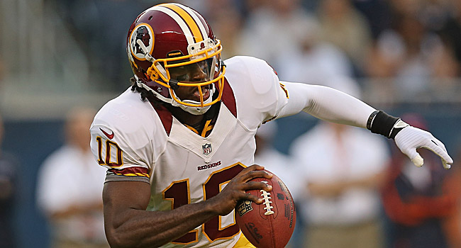 Cam Newton surpassed 4,000 passing yards in 2011. Can RG3 do it? (Getty Images)