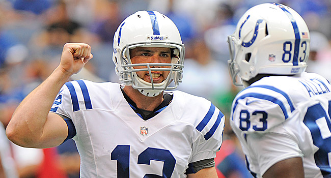 Can No. 1 draft pick Andrew Luck match the success of Cam Newton? (US Presswire)