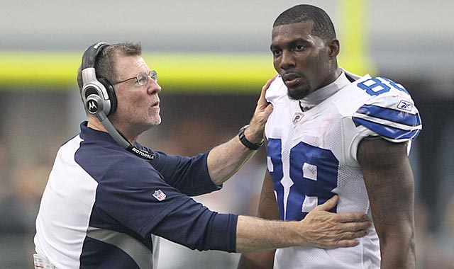 Dez Bryant should be commended for agreeing to have Cowboys management keep him in line. (US Presswire)