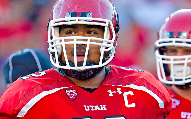 Utah defensive captain Star Lotulelei was the top defensive lineman in the Pac-12 last season. (US Presswire)