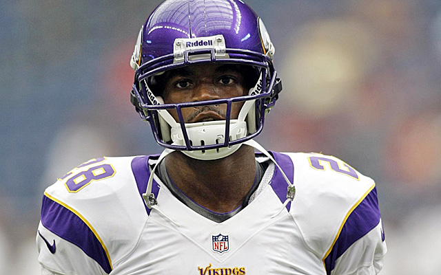 Peterson has made it clear he expects to play against Jacksonville in Week 1. (US Presswire)
