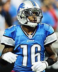 Titus Young is bound for a big year in Detroit. (US Presswire)