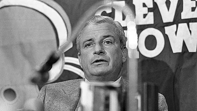 Modell was instrumental in growing the NFL's popularity with lucrative TV deals. (AP)