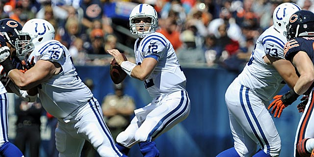 Andrew Luck puts together a debut better than Peyton Manning's. (AP)