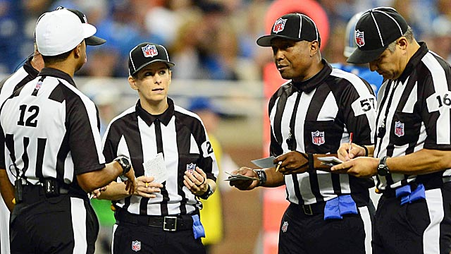 These replacements really haven't been too bad, locked-out refs should note. (US Presswire)
