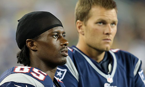 Brandon Lloyd will soon free Wes Welker from bracket coverage. (Getty Images)