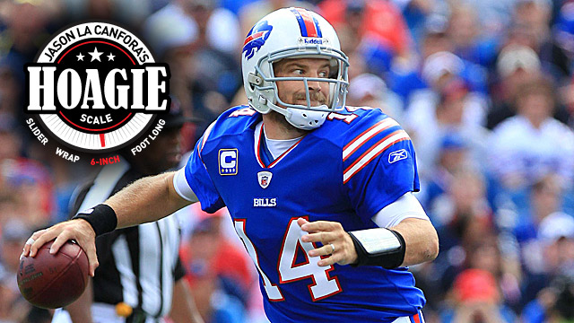 Ryan Fitzpatrick and the Bills beat the Patriots in Buffalo last season. (US Presswire)