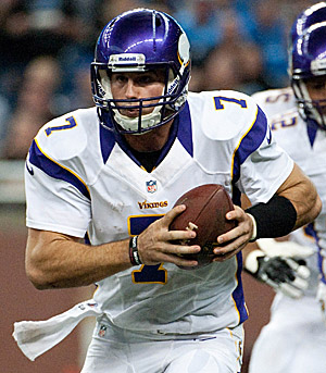 Christian Ponder and the Vikings start at 3-1. Few people saw that coming. (US Presswire)