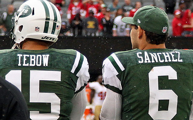 It's quite the quarterback quandary the Jets have on their hands. (US Presswire)