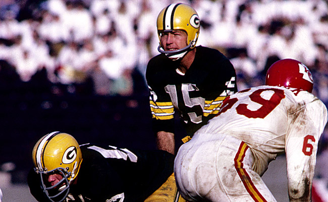 Bart Starr led the Packers to a 35-10 win over the Chiefs in Super Bowl I. (US Presswire)
