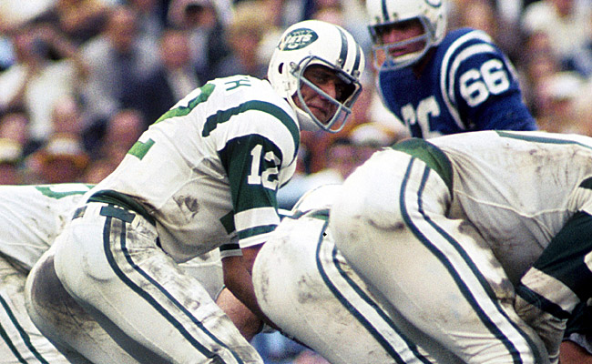 Joe Namath guaranteed a win against the Colts, and he delivered. (US Presswire)