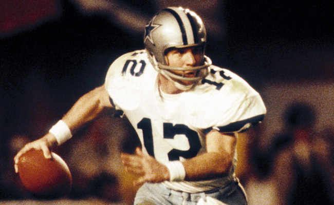 Even though the Cowboys fell short of victory, Staubach's performance was amazing. (US Presswire)