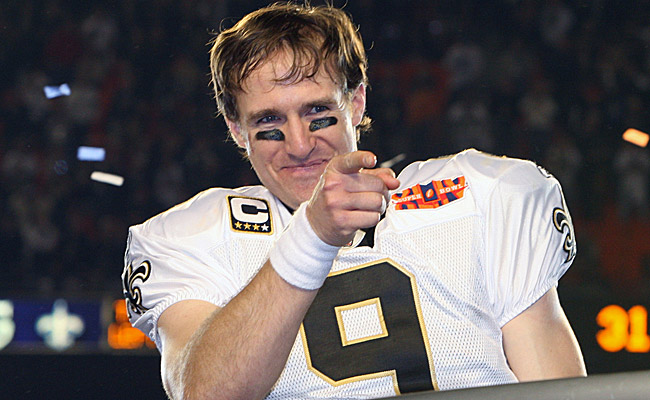 Brees put on a masterful passing performance en route to a Saints win. (US Presswire)