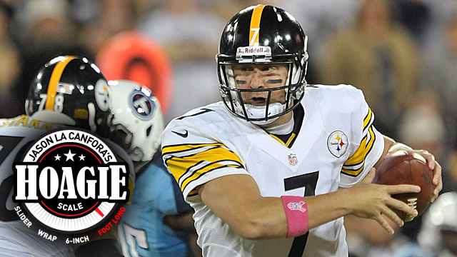 Coming off a loss to Tennessee, Roethlisberger could come out slinging in Cincinnati. (US Presswire)
