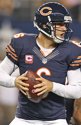 Bears QB Jay Cutler has won five of his past six against the Lions. (US Presswire)