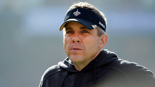 Sean Payton might turn 'his' bounty scandal into an opportunity to become a rich hero. (Getty Images)