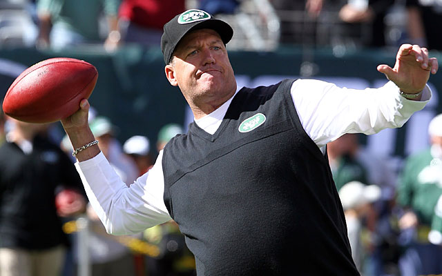 Overrated? 'At the end of the year,' Rex Ryan says, 'we'll see who's overrated.' (US Presswire)