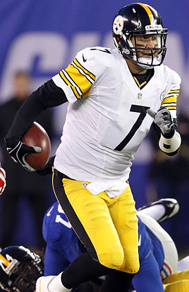 Monday night heavyweight Ben Roethlisberger gets a lightweight matchup vs. the Chiefs. (AP)