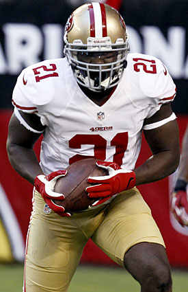 Frank Gore leads all active players with 677 rushing yards on Monday nights. (AP)