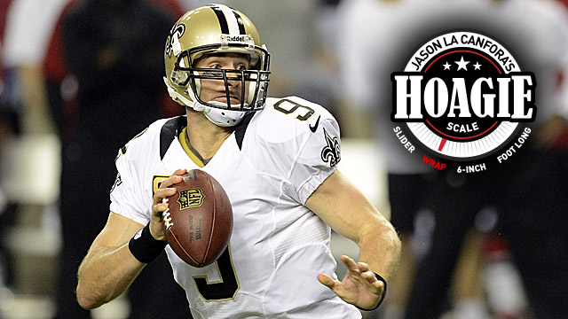 After a dismal Week 13 showing, Drew Brees travels to face the Giants. (US Presswire)