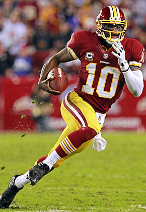 The biggest concern with Washington's read-option offense is RG3's long-term health. (US Presswire)
