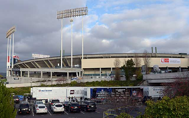 The NFL says it will help the Oakland Raiders fund a new stadium to replace Oakland Coliseum. (US Presswire)