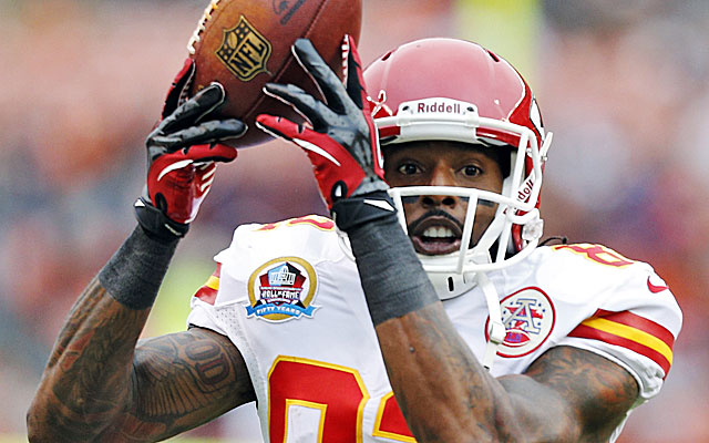 Dwayne Bowe is planning to play Sunday. (USATSI)