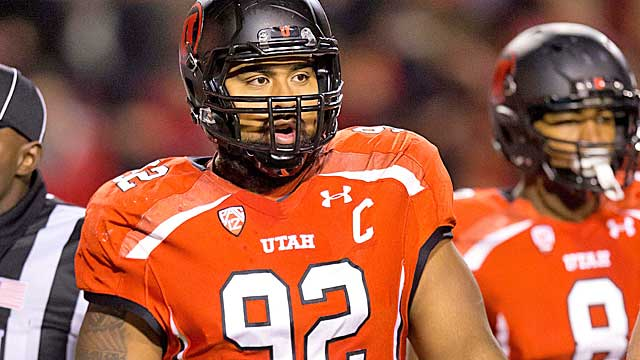 Utah DT Star Lotulelei is remarkably athletic at 6-3, 320 pounds. (US Presswire)