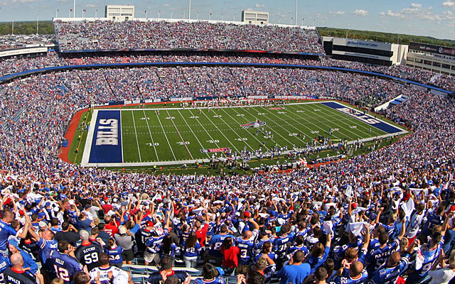 Ralph Wilson Stadium, the Bills' home since 1973, is in line for a multimillion-dollar renovation. (US Presswire)