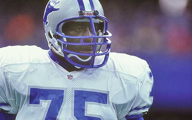 Lomas Brown spent the first 11 seasons of his 18-year NFL career in Detroit. (Getty Images)