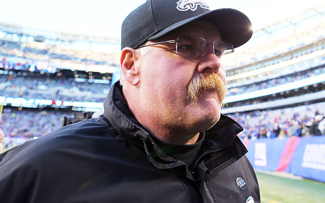 Andy Reid's Philly tenure featured plenty of highs but (likely) ends on an incredible low. (Getty Images)